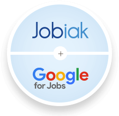 Jobiak + Google for Jobs = optimized recruiting